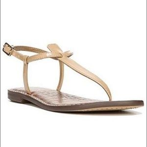 Sam Edelman Cream Colored Gigi Sandals Size 9.5